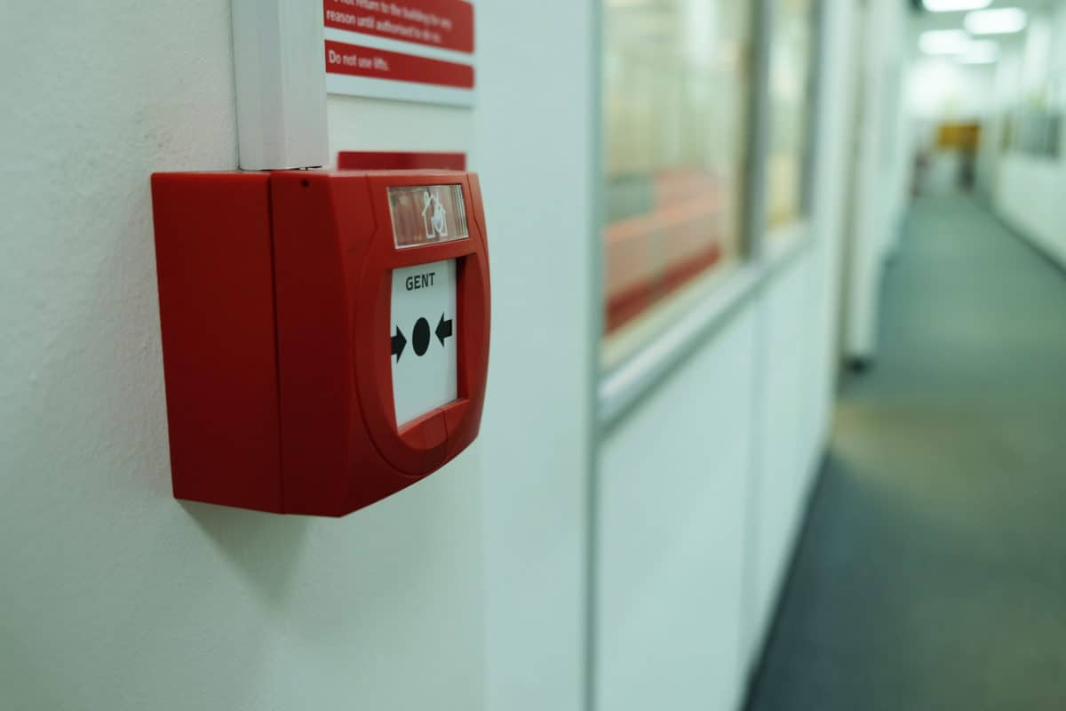 Commercial fire alarm, fire protection